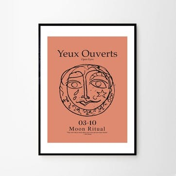 Yeux, Lucrecia Rey Caro Art Print