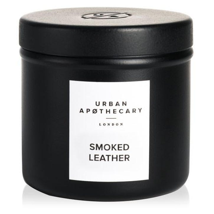Smoked Leather Travel Candle, 175g