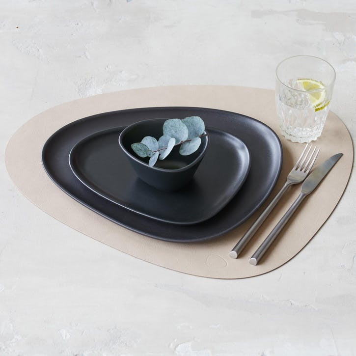 Curve Placemat, Set of 4, Sand
