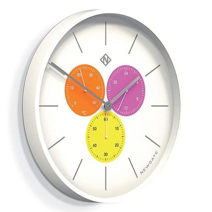 Butterfly Wing Triptick Clock