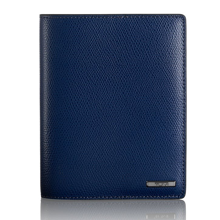 Province Slg Passport Cover, Blue