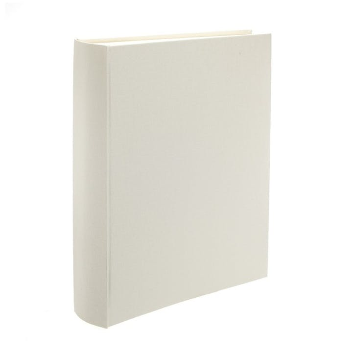 Linen Portrait Photo Album, Ivory