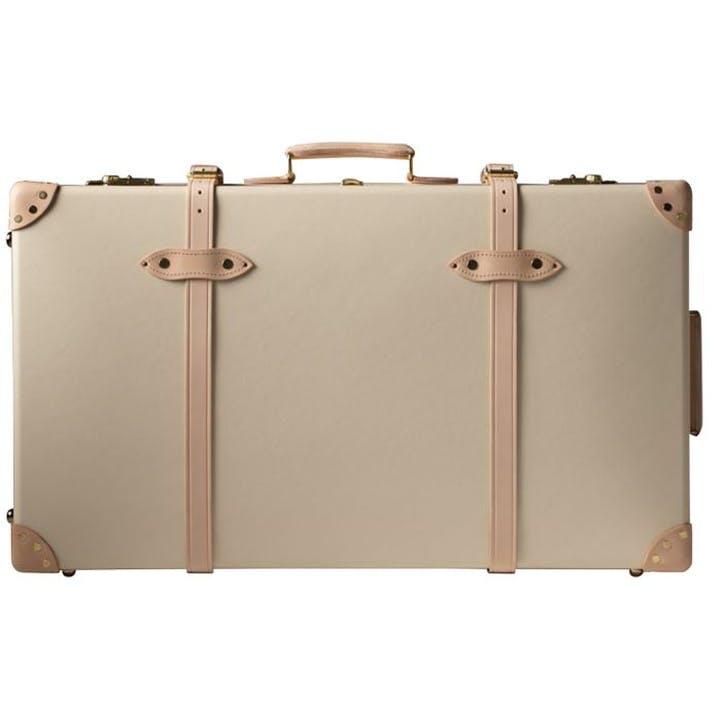 33 Inch Ed Wheeled Suitcase; Ivory