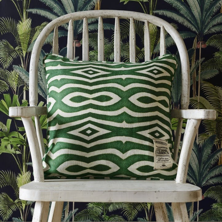 Tropical Story Riverside Cushion