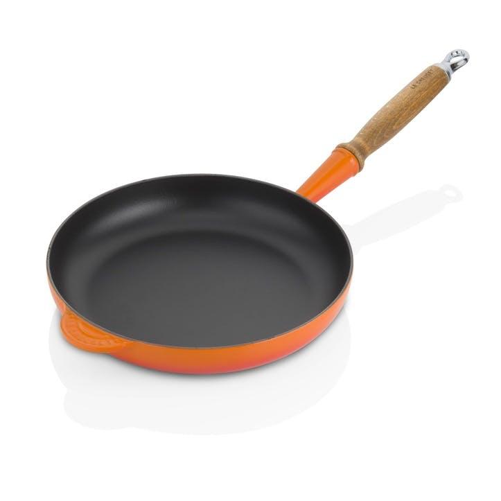 Cast Iron Frying Pan - 26cm; Volcanic