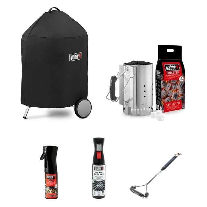 Mastertouch Premium Charcoal 57cm BBQ Bundle with FREE GIFTS