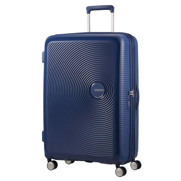 Soundbox Spinner Suitcase, 77cm, Midnight Navy