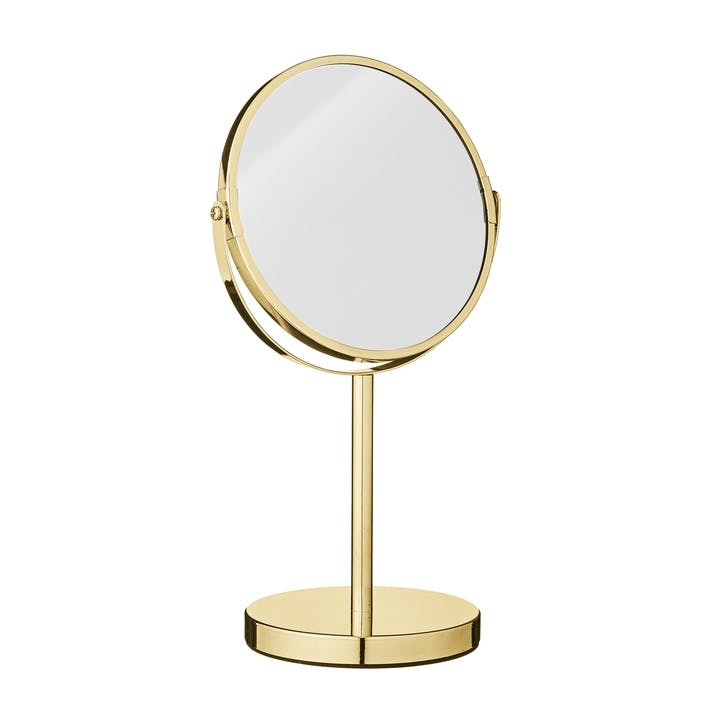 Gold Stand Mirror