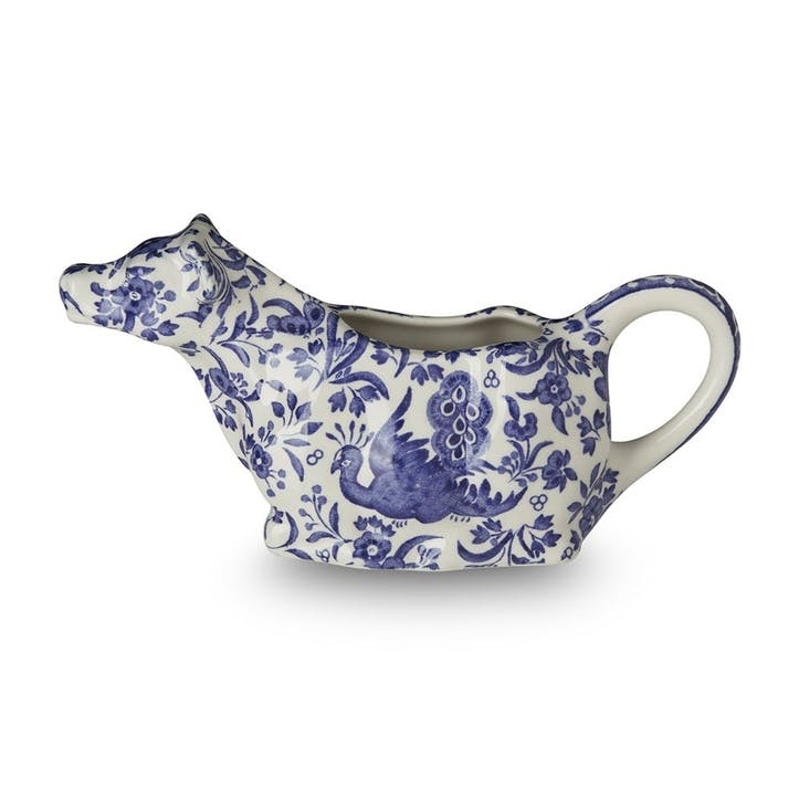 Regal Peacock Cow Creamer, 150ml, Blue