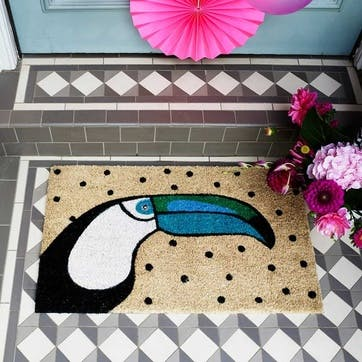 Doormat Toucan, 75 x 45cm