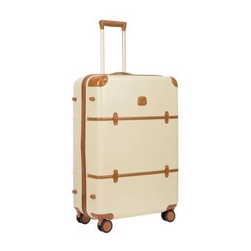 Bellagio 2 Spinner Suitcase, 76cm; Cream