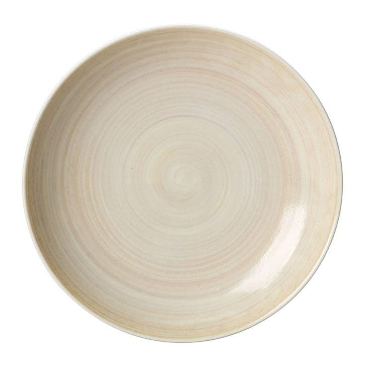 Studio Glaze Coupe Serving Bowl - 30cm; Classic Vanilla