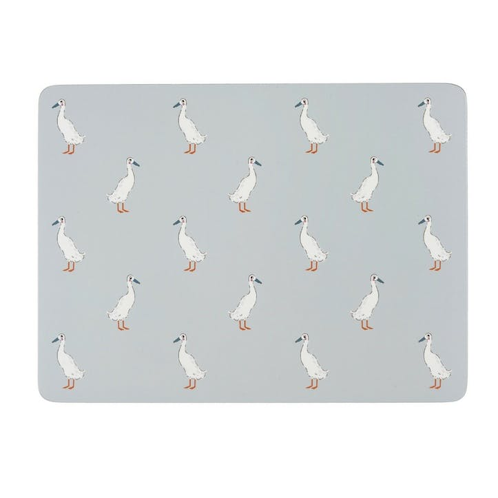 'Runner Duck' Placemats, Set Of 4