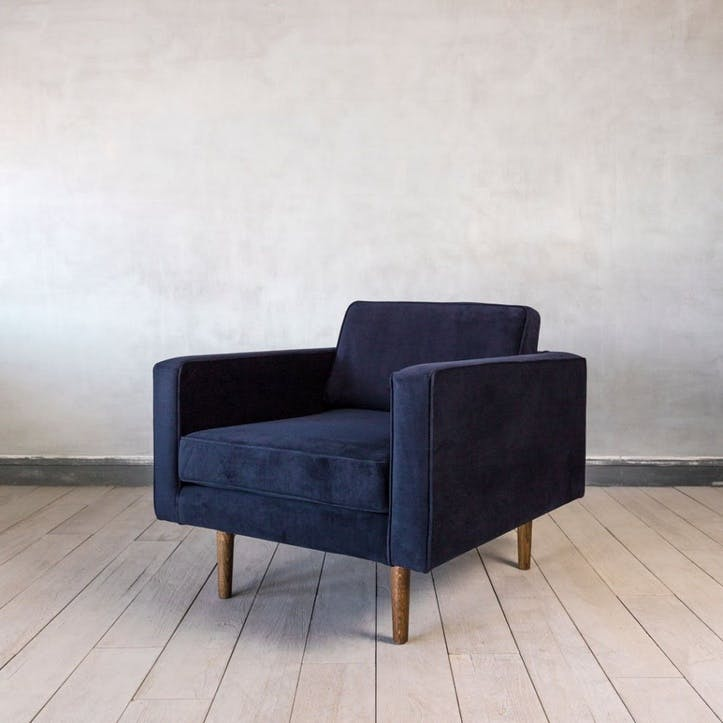 Oscar Chair, Insignia Blue