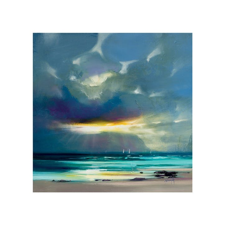 Scott Naismith West Coast Blues Canvas Print - 85 x 85cm