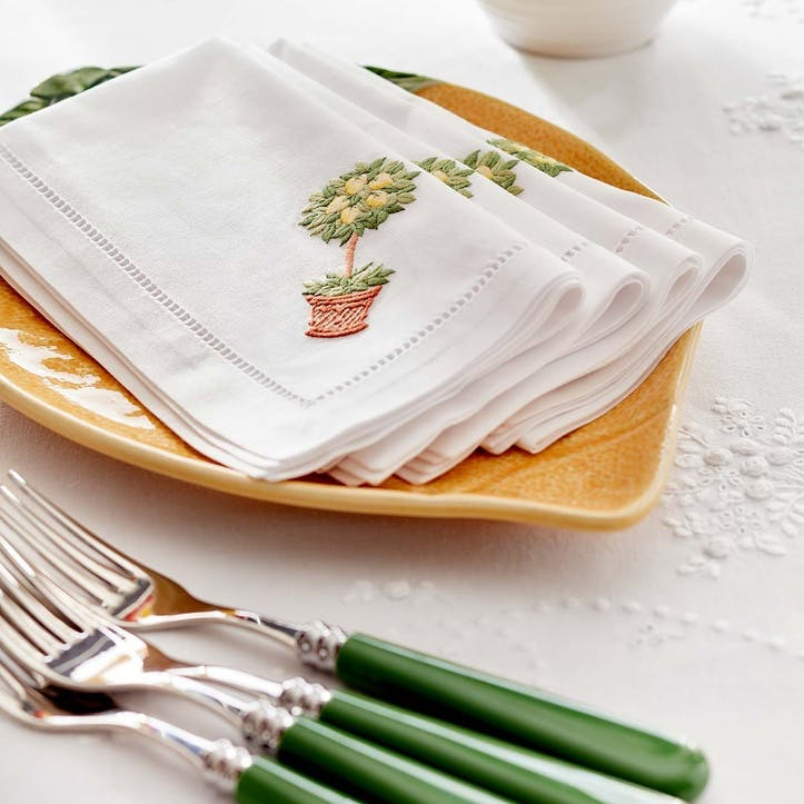 Sicily Cotton Napkins, Set of Four