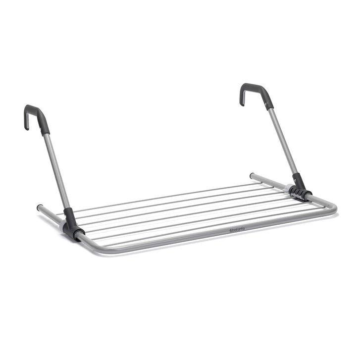 Hanging Drying Rack, 4.5m, Metallic Grey