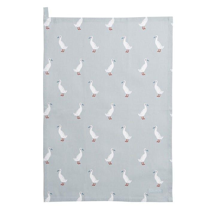 'Runner Duck' Tea Towel