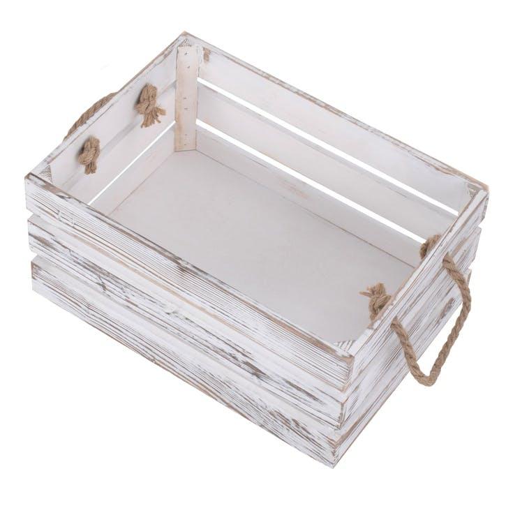 Medium Distressed Crate