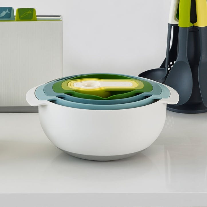 Opal Nest Plus 9 Piece Nesting Bowl Set
