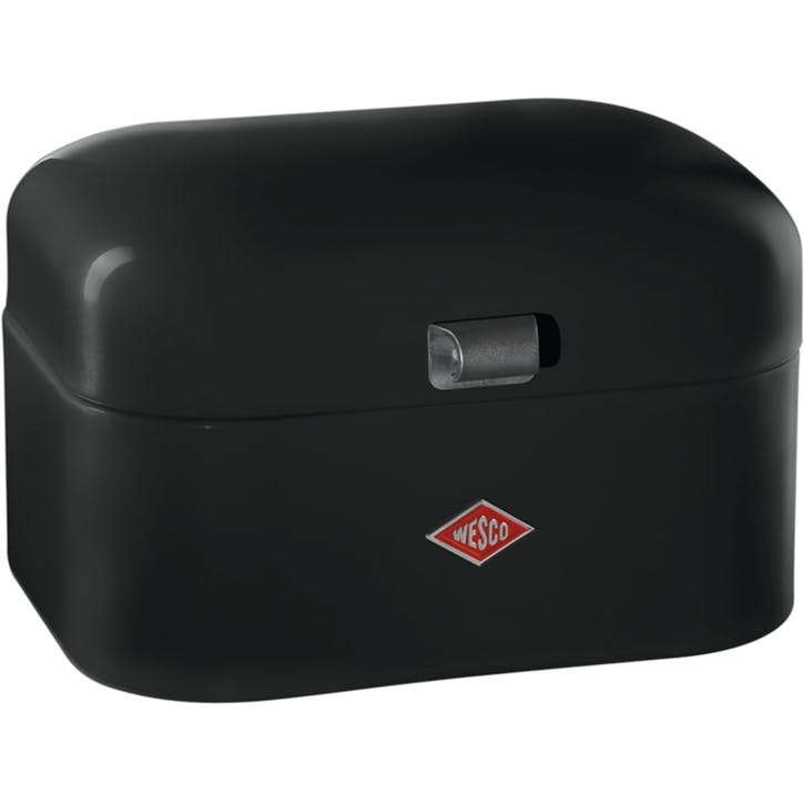 Single Grandy Bread Bin, Black