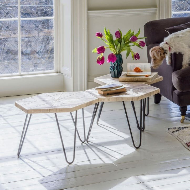 Harris Hexagon Table