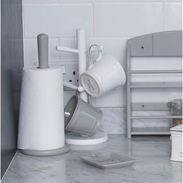 Kitchen Roll Holder, Grey