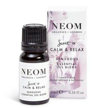 Scent to De-Stress, Sensuous Essential Oil Blend, 10 ml