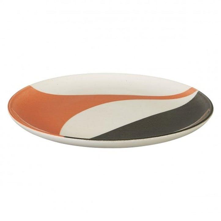 Clara Dinner Plate, Orange