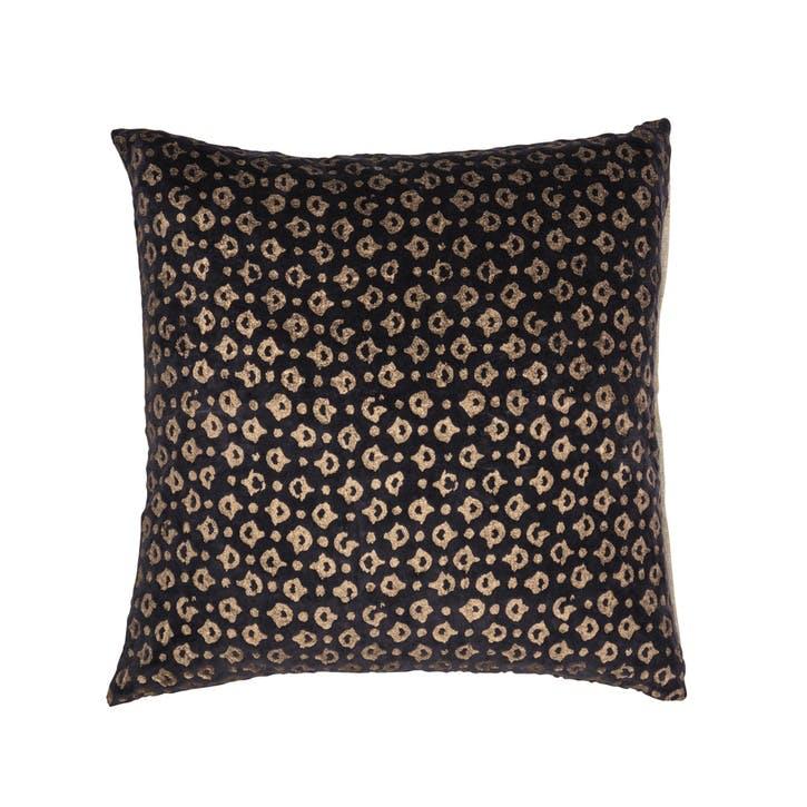 Dots Cushion, Unblack