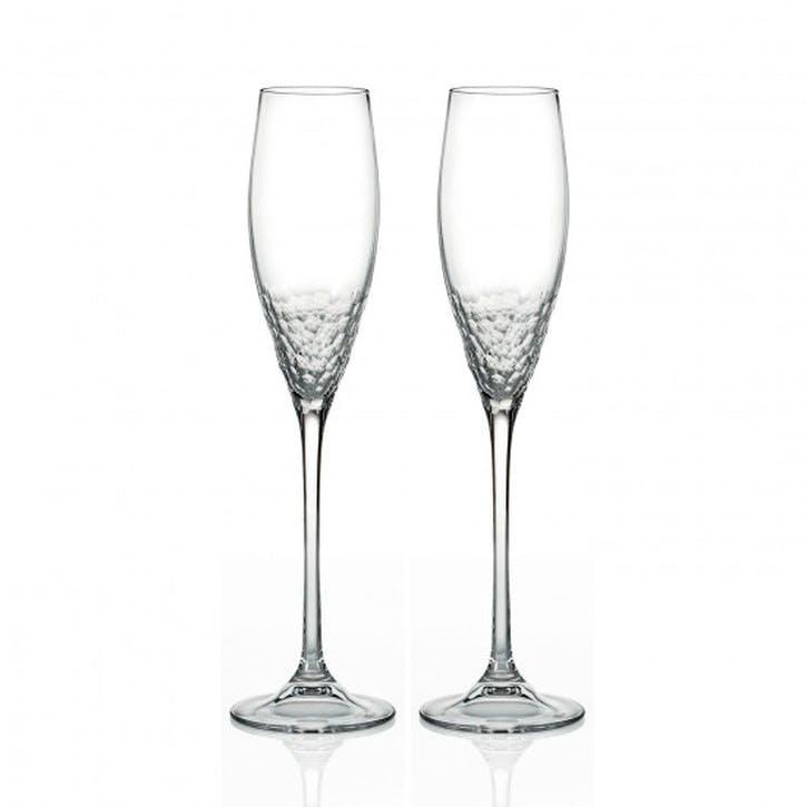 Sequin Champagne Flute, Set of 2