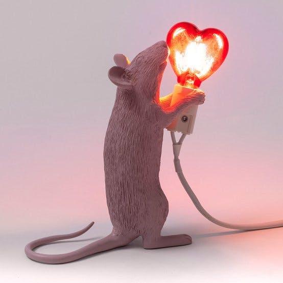 Seletti Mouse Lamp Heart