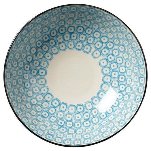 OKA blue plate