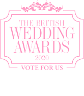 Vote for us in The British Wedding Awards