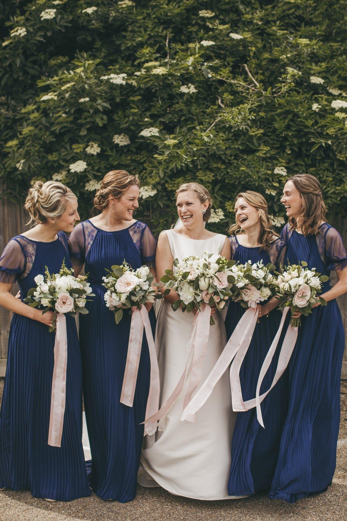 Ellie and bridesmaids