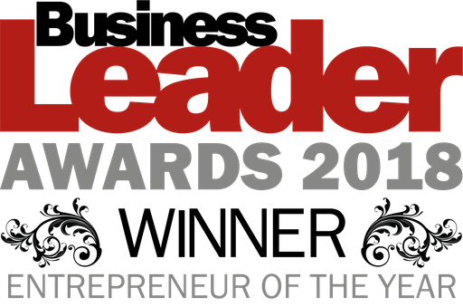 Entrepreneur of the year winner 2018 logo