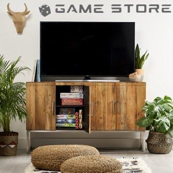 gamestore landing page