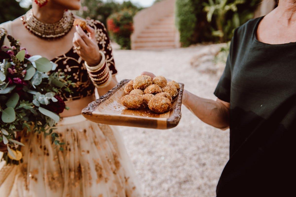 Wedding food hema & Ajai