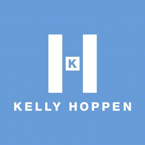Kelly Hoppen logo blue