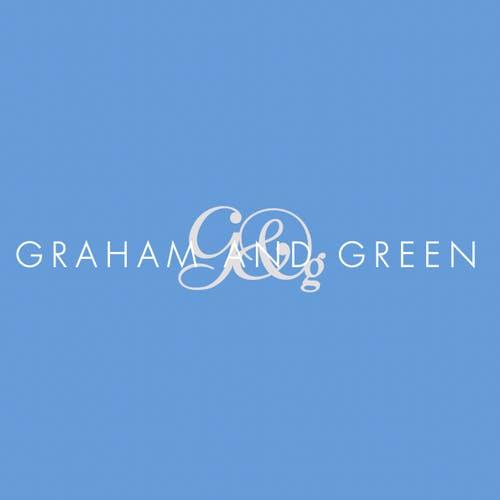 Graham & Green logo blue