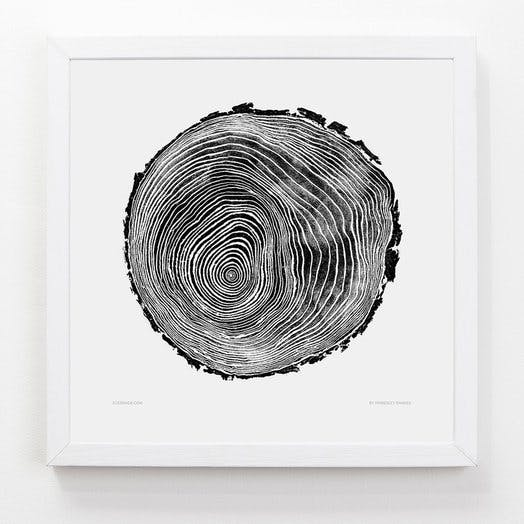 Evermade tree print