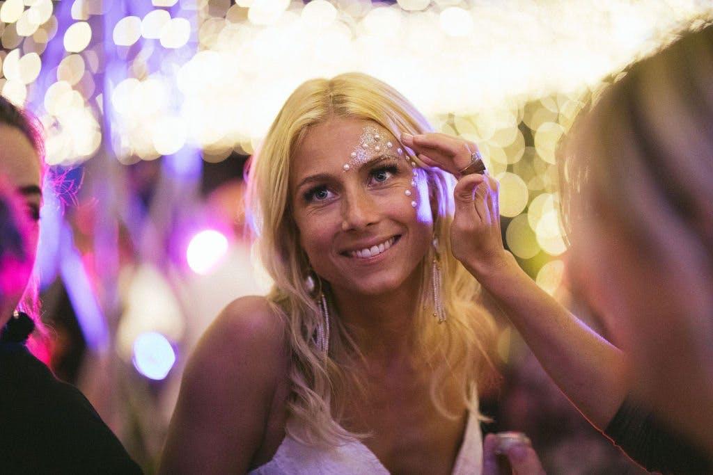 bride glitter