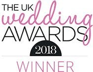 UK Wedding Awards 2018 Winner