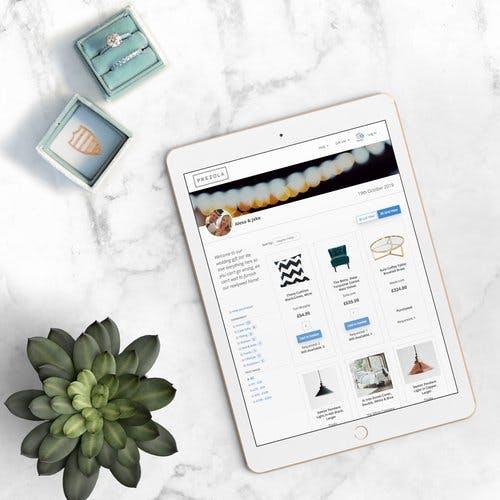 New iPad mock up