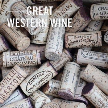 great western wine second
