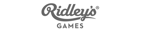 Ridleys Games Menu Footer Logo