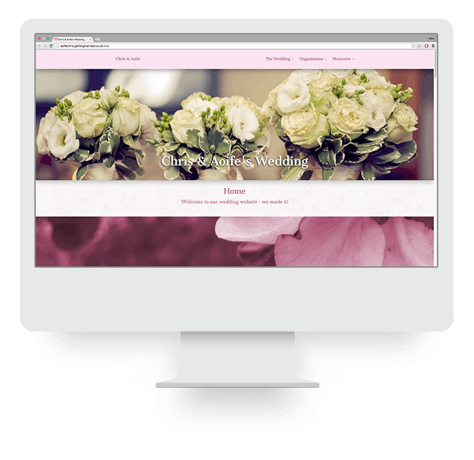 Wedding Website Template 2