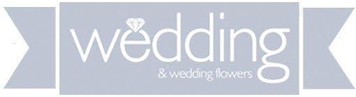Wedding and Flowers Logo